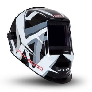 Unimig Welding Helmet Automatic Darkening True Colours Memory Function