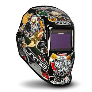 Unimig Welding Helmet Auto Darkening Grind Mode True Colour Lens