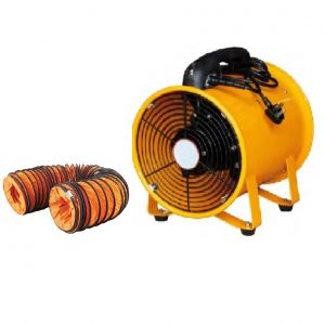 Industrial Extractor Fan 300mm Portable Ventilator & 5m Hose Blower Spray Paint
