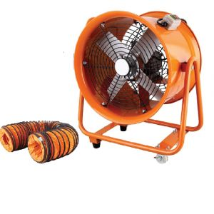 Industrial Extractor Fan 400 MM 16 inches Portable Ventilator 1500W with or without air hose