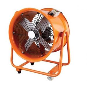 Industrial Extractor Fan 600 MM 24 inches Portable Ventilator 2200 W with or without air hose