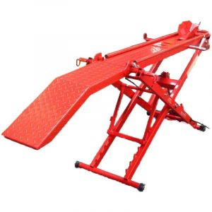Motorcycle Lift Air Hydraulic & Manual 450 kg Motorbike Lifter Stand Table