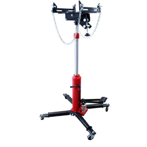 Transmission Jack 600 KG 2-stage Heavy Duty Include Safety Chains & Foot Pedal