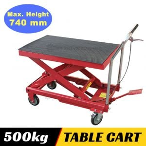 HYDRAULIC SCISSOR LIFT Table Cart Lifting 500 kg Workshop Tool
