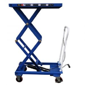 DOUBLE SCISSOR LIFT TABLE CART 150 - 300 kg HAND TROLLEY Lift up to 1585 mm