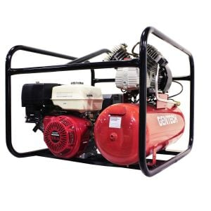 Welder Generator Air Compressor Gentech 4 in 1 Work Station with Honda GX390 7kVA Petrol Powered